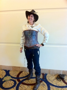 Me in my western steampunk costume.